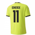 2020-2021 Czech Republic Away Puma Football Shirt (Kids) (KRMENCIK 11)