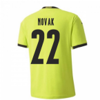 2020-2021 Czech Republic Away Puma Football Shirt (Kids) (NOVAK 22)