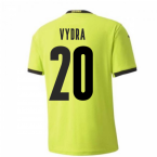 2020-2021 Czech Republic Away Puma Football Shirt (Kids) (VYDRA 20)