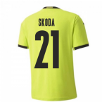 2020-2021 Czech Republic Away Puma Football Shirt (SKODA 21)
