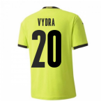 2020-2021 Czech Republic Away Puma Football Shirt (VYDRA 20)