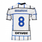 2020-2021 Inter Milan Away Nike Football Shirt (Kids) (IBRAHIMOVIC 8)