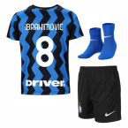 2020-2021 Inter Milan Home Nike Infants Kit (IBRAHIMOVIC 8)