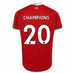 2020-2021 Liverpool Home Shirt (Kids) (CHAMPIONS 20)