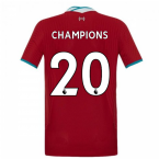 2020-2021 Liverpool Vapor Home Shirt (Kids) (CHAMPIONS 20)