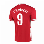 2020-2021 Poland Away Nike Football Shirt (LEWANDOWSKI 9)