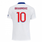 2020-2021 PSG Authentic Vapor Match Away Nike Shirt (IBRAHIMOVIC 10)