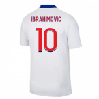 2020-2021 PSG Away Nike Football Shirt (IBRAHIMOVIC 10)