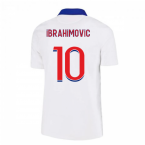 2020-2021 PSG Away Nike Shirt (Kids) (IBRAHIMOVIC 10)