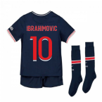 2020-2021 PSG Home Nike Little Boys Mini Kit (IBRAHIMOVIC 10)