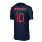 2020-2021 PSG Home Nike Shirt (Kids) (IBRAHIMOVIC 10)