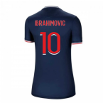 2020-2021 PSG Home Nike Womens Football Shirt (IBRAHIMOVIC 10)