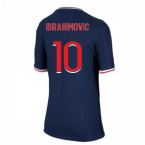2020-2021 PSG Home Vapor Match Nike Shirt (Kids) (IBRAHIMOVIC 10)