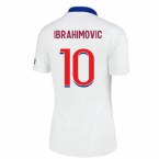 2020-2021 PSG Womens Away Shirt (IBRAHIMOVIC 10)