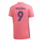 2020-2021 Real Madrid Adidas Away Football Shirt (BENZEMA 9)