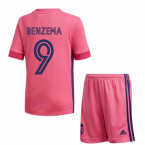 2020-2021 Real Madrid Adidas Away Mini Kit (BENZEMA 9)