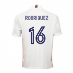 2020-2021 Real Madrid Adidas Home Football Shirt (RODRIQUEZ 16)