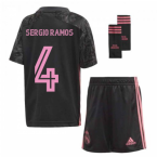 2020-2021 Real Madrid Third Mini Kit (SERGIO RAMOS 4)