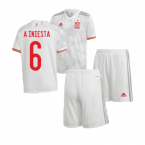 2020-2021 Spain Away Youth Kit (A INIESTA 6)