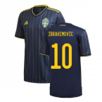 2020-2021 Sweden Away Shirt (IBRAHIMOVIC 10)