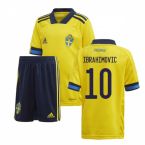 2020-2021 Sweden Home Adidas Mini Kit (IBRAHIMOVIC 10)