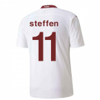 2020-2021 Switzerland Away Puma Football Shirt (STEFFEN 11)