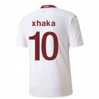 2020-2021 Switzerland Away Puma Football Shirt (XHAKA 10)