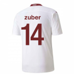 2020-2021 Switzerland Away Puma Football Shirt (ZUBER 14)