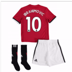 20Ibrahimovic 107-Ibrahimovic 108 Man United Home Mini Kit (Ibrahimovic 10)