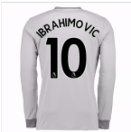 20Ibrahimovic 107-20Ibrahimovic 108 Man United Long Sleeve Third Shirt (Ibrahimovic 10) - Kids