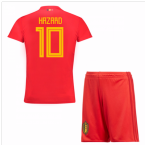 2018-19 Belgium Home Mini Kit (Hazard 10)