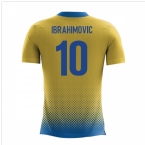 2018-2019 Sweden Airo Concept Home Shirt (Ibrahimovic 10) - Kids