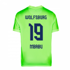 2020-2021 VFL Wolfsburg Home Nike Football Shirt (MBABU 19)
