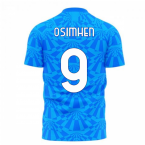 Napoli 1990s Home Concept Football Kit (Libero) (OSIMHEN 9)