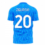 Napoli 1990s Home Concept Football Kit (Libero) (ZIELINSKI 20)
