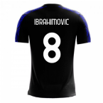 Nerazzurri Milan 2020-2021 Home Concept Football Kit (Libero) (IBRAHIMOVIC 8)