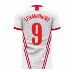 Poland 2020-2021 Home Concept Football Kit (Libero) (LEWANDOWSKI 9)