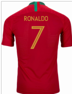 2018-2019 Portugal Home Nike Vapor Match Shirt (Ronaldo 7)