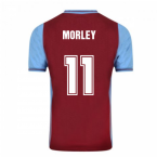 Score Draw Aston Villa 1982 Champions Of Europe Retro Football Shirt (Morley 11)