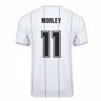 Score Draw Aston Villa 1982 Euro Final Retro Football Shirt (Morley 11)