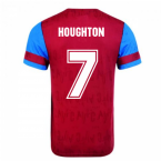 Score Draw Aston Villa 1992 Retro Football Shirt (Houghton 7)