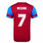 Score Draw Aston Villa 1992 Retro Football Shirt (McGinn 7)