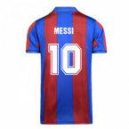Score Draw Barcelona 1982 Home Shirt (MESSI 10)