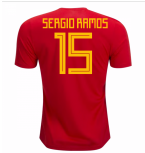 2018-19 Spain Home Shirt (Sergio Ramos 15) - Kids
