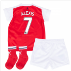 2016-17 Arsenal Home Baby Kit (Alexis 7)