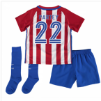 2016-17 Atletico Madrid Home Baby Kit (Partey 22)