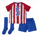 2016-17 Atletico Madrid Home Baby Kit (Tiago 5)