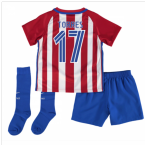 2016-17 Atletico Madrid Home Baby Kit (Torres 17)