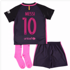 2016-17 Barcelona Away Baby Kit (Messi 10)