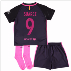 2016-17 Barcelona Away Baby Kit (Suarez 9)